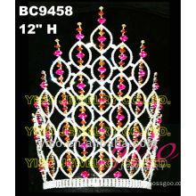 colored crystal fairy princess tiara