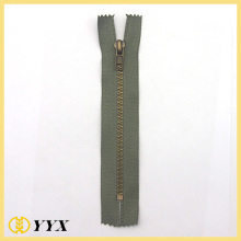 No3 Antik Mässing C / E Metal Zipper