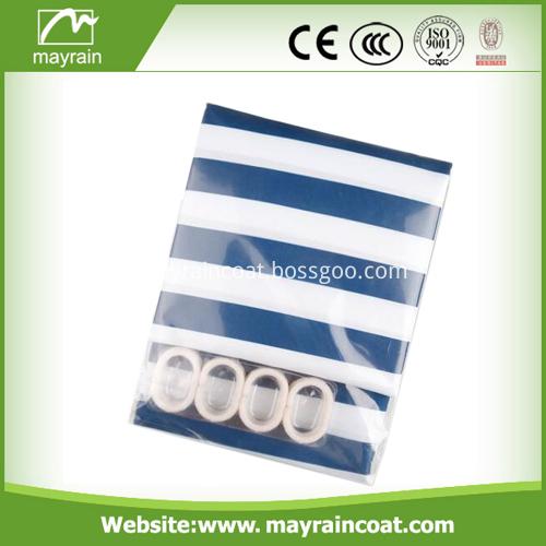 Custom Plastic Shower Curtain