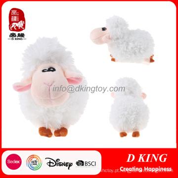 Brinquedo macio de pelúcia recheado de brinquedos de animais de ovelha
