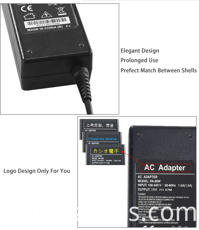 Ac charger for Hp