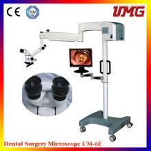 Matériel d'équipement dentaire Microscope d'exploitation portable