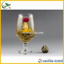 Qing Tou Yi El afecto de amaranto rojo Té floreciente