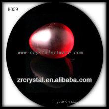 ovo de cristal vermelho K059-A