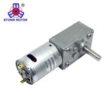 1kg.cm de torque com motor de corrente contínua 12v