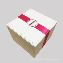 Luxury Custom PU Leather Jewelry Packaging Box