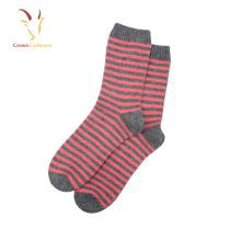 100% cashmere socks cable knit knee socks cheap knee socks
