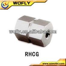 Noms et pièces pour différents types de raccords de tuyaux en acier inoxydable