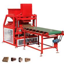 FL4-10 briques autobloquantes de cendres volantes de terre d'argile faisant le processus de fabrication de machine