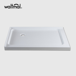 """48""""×32"""" Rectangle Acrylic Shower Tray With Intergral Tiles"""