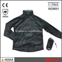 Nouvelle veste de pluie de Mens de bas Nylon ultra léger imperméable