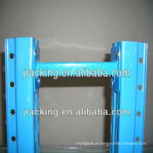 Espaçador acessório da fileira da pálete resistente da cremalheira resistente da facilidade do equipamento do armazém de Jracking
