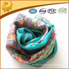 2015 ladies printed long chiffon scarf wholesale