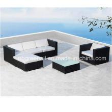 Mobiliario exterior europeo moderno del patio del Rattan del hotel (GN-9029S)