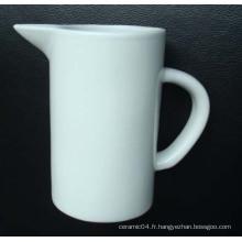 Pichet de lait, tasse de lait en céramique