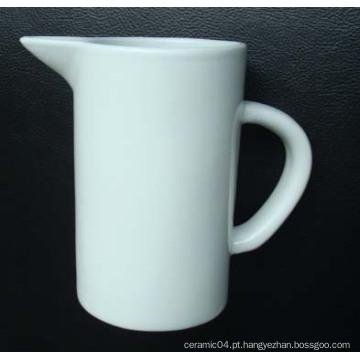 Jarro de leite, caneca cerâmica do leite