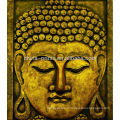 Печать Будды на холсте