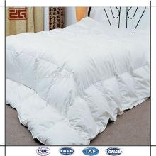 Tela de algodón de lujo 233T de alta calidad 200GSM Pato blanco abajo edredones / edredón de ganso abajo