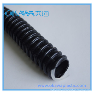 Inside Diameter 19mm PVC Soft Hose with PP Helix