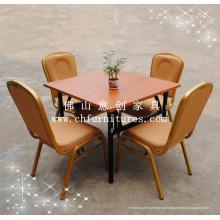 Обеденный стол и стул для ресторанов (YCF-T02-02)