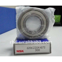 NSK Deep groove ball bearing 6206ZZ