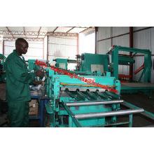 Begrüßung in Afrika Markt IBR Dach Rollen Formmaschine