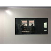 Reinraum sauberes Fenster