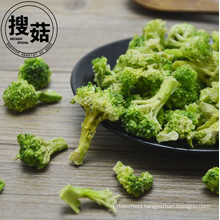 Supplying freeze dried Broccoli Crisps for sale