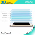 Wholesale 0.26mm full coverage color frame Carbon Fiber Soft Edge Screen Protector for iPhone 6