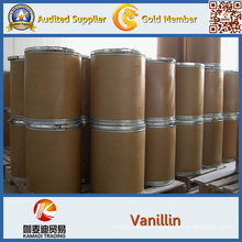 Vanillin für Lebensmittelklasse CAS-Nr .: 121-33-5
