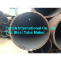 Seamless steel tube for petroleum cracking
