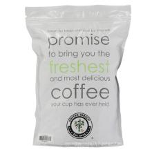 Sac d'emballage de café / sac à glissière pour café / café moulu