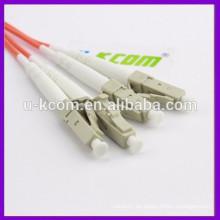 China-Großverkauf direkt Versorgungsmaterial-Vielzahl LC-Faser-optisches Flecken-Schnur-Kabel