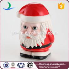 Natal criativo velho homem canister para crianças bonitas decoração top