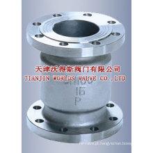 Válvula de retenção de silenciador de poupança de energia