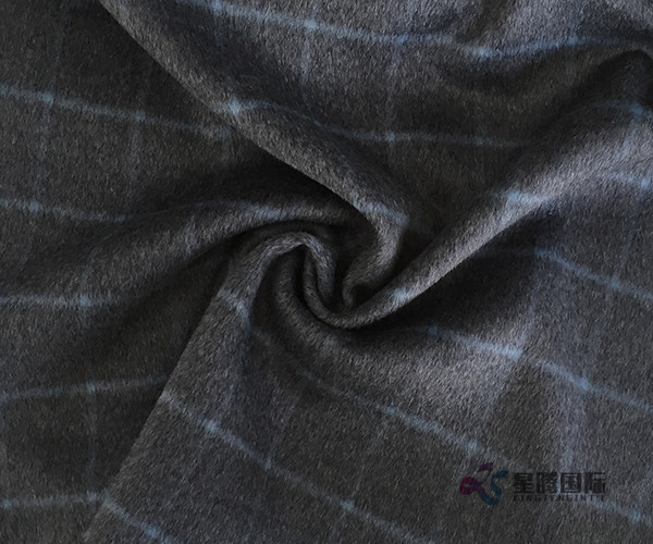 Plaid Wool Fabric