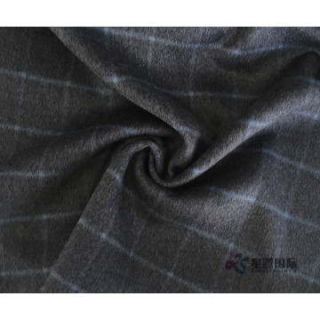 100% Bulu Plaid Fabrik Untuk Suiting Clothing