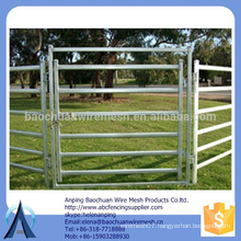 Rails: 80mm x 40mm x 1.6mm cattle corral panels