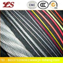 Cuerda de alambre de acero galvanizado 6 * 25