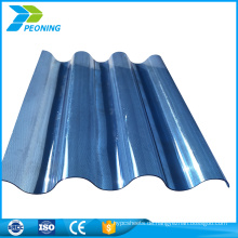 Direkte Hersteller billige Polycarbonat Wellpappe Plastikfolie