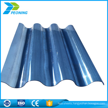 Direct manufacturers cheap polycarbonate corrugated roof panel plastic sheet