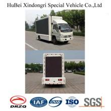 Foton 9 m³ Εξωτερική LED διαφήμιση φορτηγών