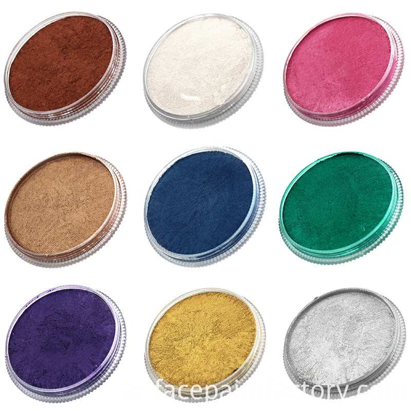 Pearl Color Face Paint