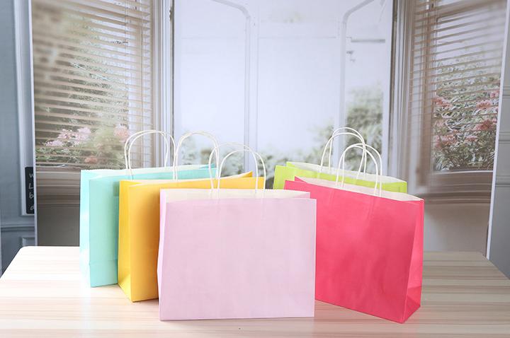 Colorful Kraft Paper Bag 4
