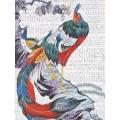 Art Mosaic Chinese Oil Painting Series
