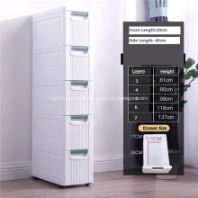 Drawer Waterproof Wardrobe Plastic Cabinet