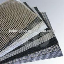 Tissu en tissu PTFE en tissu tissu convoyeur, résistant à la chaleur, nettoyage facile, séchage,