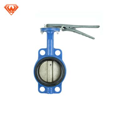 China fornecedor ferro dúctil válvula de borboleta de 4 polegadas