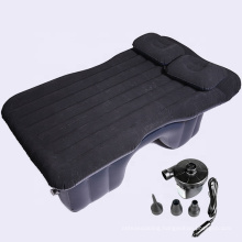 inflatable OEM item Flocking surface car air bed