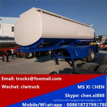 Single Alxes Carbon Steel 20cbm Fuel Trailer